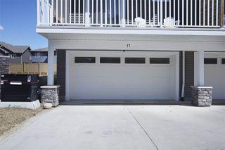 Photo 34: 17 1480 WATT Drive in Edmonton: Zone 53 Townhouse for sale : MLS®# E4194580