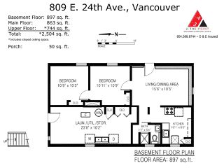 Photo 17: 809 E 24TH Avenue in Vancouver: Fraser VE House for sale (Vancouver East)  : MLS®# R2482539