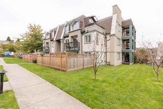 "Photo 2: 120 217 BEGIN Street in Coquitlam: Maillardville Townhouse for sale in ""PLACE FOUNTAINBLEAU"" : MLS®# R2511340"