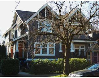 """Photo 1: 166 W 14TH Avenue in Vancouver: Mount Pleasant VW Townhouse for sale in """"HALLHAUS"""" (Vancouver West)  : MLS®# V811944"""
