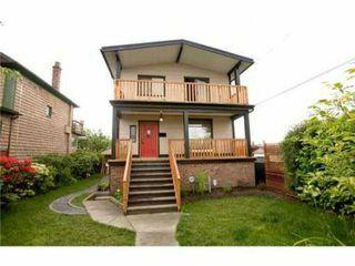 Photo 1: 33 KAMLOOPS Street in Vancouver: Hastings East House for sale (Vancouver East)  : MLS®# V834696