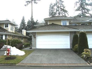 "Photo 1: 79 2500 152ND Street in Surrey: King George Corridor Townhouse for sale in ""PENINSULA VILLAGE"" (South Surrey White Rock)  : MLS®# F2833818"