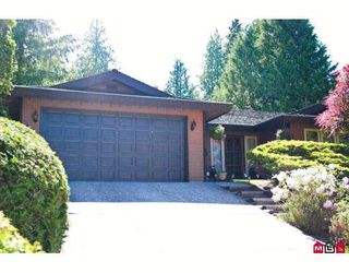 "Photo 1: 4671 204TH Street in Langley: Langley City House for sale in ""MOSSEY ESTATES"" : MLS®# F2911498"