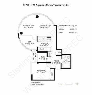 "Photo 17: 1706 193 AQUARIUS Mews in Vancouver: Yaletown Condo for sale in ""Marinaside Resort Residences"" (Vancouver West)  : MLS®# R2404326"