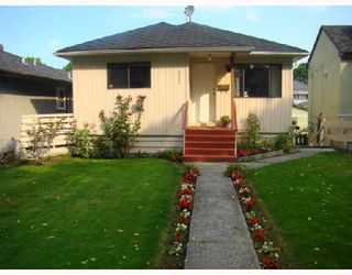 "Main Photo: 2237 E 38TH Avenue in Vancouver: Victoria VE House for sale in ""VICTORIA VE"" (Vancouver East)  : MLS®# V734237"