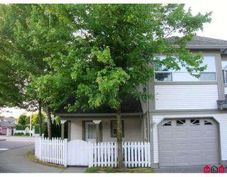 "Photo 1: 1 16318 82ND Avenue in Surrey: Fleetwood Tynehead Townhouse for sale in ""HAZELWOOD LANE"" : MLS®# F2830816"