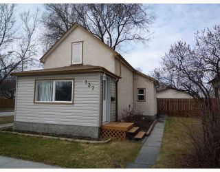 Photo 1: 137 MCMEANS Avenue West in WINNIPEG: Transcona Residential for sale (North East Winnipeg)  : MLS®# 2907147