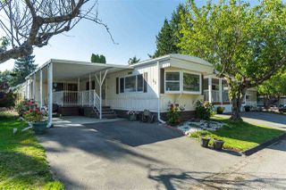 "Main Photo: 89 7790 KING GEORGE Boulevard in Surrey: East Newton Manufactured Home for sale in ""Crispen Bays Community"" : MLS®# R2395552"