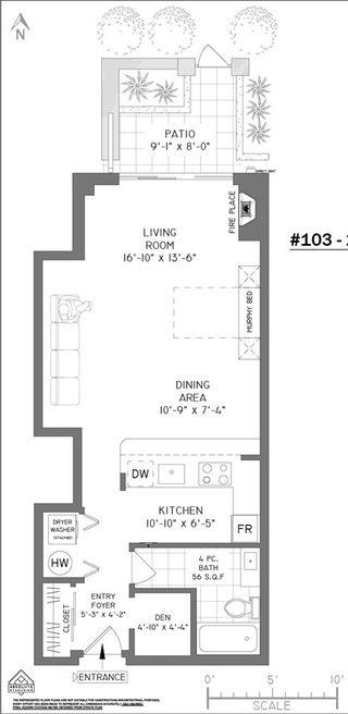 Photo 18: 103 2268 W 12TH AVENUE in Vancouver: Kitsilano Condo for sale (Vancouver West)  : MLS®# R2439145