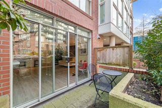Photo 16: 103 2268 W 12TH AVENUE in Vancouver: Kitsilano Condo for sale (Vancouver West)  : MLS®# R2439145