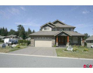 "Photo 1: 7971 PALMER Place in Chilliwack: Eastern Hillsides House for sale in ""ELK CREEK"" : MLS®# H2901259"