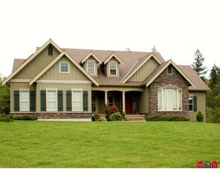 Photo 1: 26805 62ND Avenue in Langley: County Line Glen Valley House for sale : MLS®# F2911088