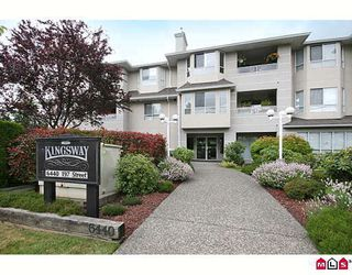 "Photo 1: 201 6440 197TH Street in Langley: Willoughby Heights Condo for sale in ""KINGSWAY"" : MLS®# F2915652"