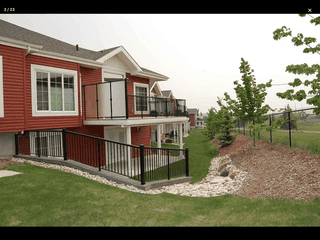 Photo 1: 88 Lacombe Drive in St. Albert: Condo for rent