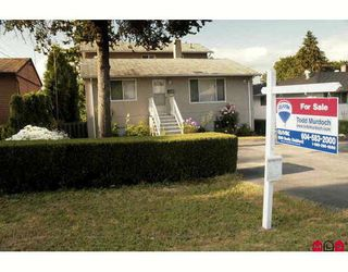 """Photo 1: 14109 113A Avenue in Surrey: Bolivar Heights House for sale in """"BOLIVAR HEIGHTS"""" (North Surrey)  : MLS®# F2821641"""