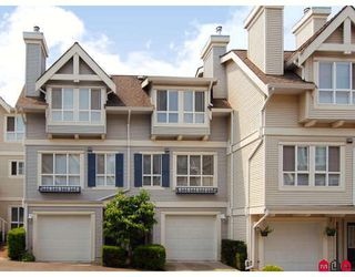 """Photo 1: 27 8844 208TH Street in Langley: Walnut Grove Townhouse for sale in """"Mayberry"""" : MLS®# F2904935"""