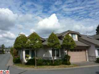 "Photo 1: 28 16325 82ND Avenue in Surrey: Fleetwood Tynehead Townhouse for sale in ""HAMPTON WOODS"" : MLS®# F1023548"