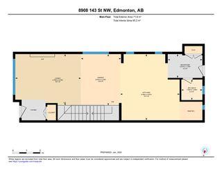 Photo 48: 8908 143 Street in Edmonton: Zone 10 House for sale : MLS®# E4189074