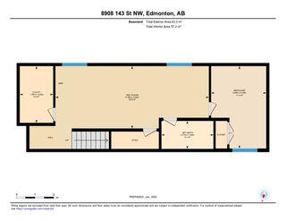 Photo 50: 8908 143 Street in Edmonton: Zone 10 House for sale : MLS®# E4189074