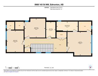 Photo 49: 8908 143 Street in Edmonton: Zone 10 House for sale : MLS®# E4189074