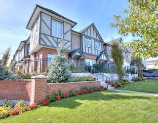 """Photo 1: 1001 W 46TH Avenue in Vancouver: South Granville Townhouse for sale in """"CARRINGTON"""" (Vancouver West)  : MLS®# V735355"""