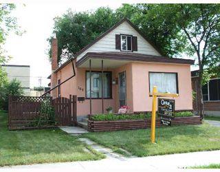 Photo 1: 165 PERTH Avenue in WINNIPEG: West Kildonan / Garden City Single Family Detached for sale (North West Winnipeg)  : MLS®# 2712981