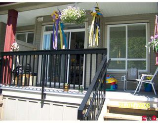 "Photo 3: 20 16772 61ST Avenue in Surrey: Cloverdale BC Townhouse for sale in ""Laredo"" (Cloverdale)  : MLS®# F2822581"