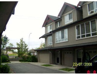 "Photo 1: 20 16772 61ST Avenue in Surrey: Cloverdale BC Townhouse for sale in ""Laredo"" (Cloverdale)  : MLS®# F2822581"