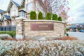 "Photo 1: 20 30989 WESTRIDGE Place in Abbotsford: Abbotsford West Townhouse for sale in ""Brighton"" : MLS®# R2517527"