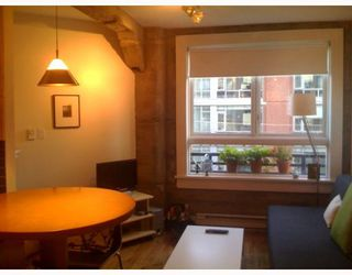 Photo 2: 311 1216 HOMER Street in Vancouver: Downtown VW Condo for sale (Vancouver West)  : MLS®# V799842
