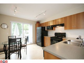 "Photo 5: 116 6747 203RD Street in Langley: Willoughby Heights Townhouse for sale in ""SAGEBROOK"" : MLS®# F1017944"