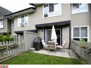 "Photo 9: 116 6747 203RD Street in Langley: Willoughby Heights Townhouse for sale in ""SAGEBROOK"" : MLS®# F1017944"