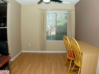 """Photo 7: 104 2533 MARCET Court in Abbotsford: Abbotsford East Townhouse for sale in """"OLD YALE HEIGHTS"""" : MLS®# F1022838"""
