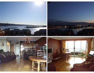 "Photo 1: 805 1045 QUAYSIDE Drive in New_Westminster: Quay Condo for sale in ""QUAYSIDE TOWER 1"" (New Westminster)  : MLS®# V753213"