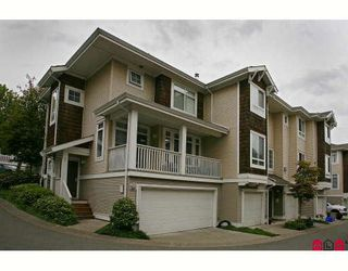 """Photo 1: 38 15030 58TH Avenue in Surrey: Sullivan Station Townhouse for sale in """"SUMMERLEAF"""" : MLS®# F2910550"""