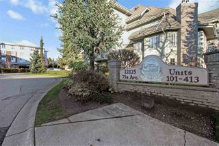 "Photo 2: 110 12125 75A Avenue in Surrey: West Newton Condo for sale in ""STRAWBERRY HILL ESTATES"" : MLS®# R2468277"
