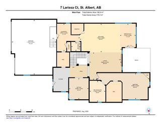 Photo 43: 7 Larissa Court: St. Albert House for sale : MLS®# E4211244