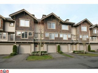 "Photo 1: 4 20761 DUNCAN Way in Langley: Langley City Townhouse for sale in ""WYNDHAM LAKE"" : MLS®# F1028683"