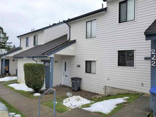 "Main Photo: 221 13624 67 Avenue in Surrey: East Newton Townhouse for sale in ""Hyland  Creek  Estates"" : MLS®# R2429636"