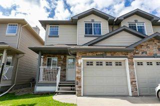 Photo 1: 12104 16 Avenue in Edmonton: Zone 55 House Half Duplex for sale : MLS®# E4189185