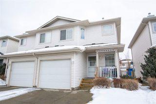 Photo 34: 7 16933 115 Street in Edmonton: Zone 27 House Half Duplex for sale : MLS®# E4191246