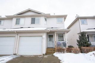Photo 1: 7 16933 115 Street in Edmonton: Zone 27 House Half Duplex for sale : MLS®# E4191246