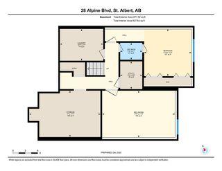 Photo 43: 28 Alpine Boulevard: St. Albert Condo for sale : MLS®# E4223330