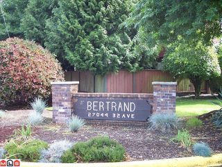 "Photo 10: 115 27044 32ND Avenue in Langley: Aldergrove Langley Townhouse for sale in ""BERTRAND ESTATES"" : MLS®# F1023106"