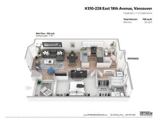 Photo 17: 310 228 E 18TH AVENUE in Vancouver: Main Condo for sale (Vancouver East)  : MLS®# R2449675
