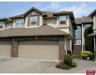 """Photo 1: 24 2525 YALE Court in Abbotsford: Abbotsford East Townhouse for sale in """"YALE COURT"""" : MLS®# F2908268"""