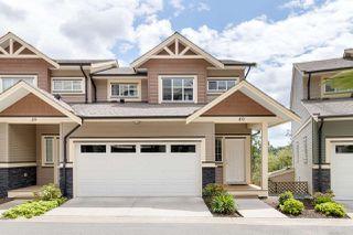"Main Photo: 40 11252 COTTONWOOD Drive in Maple Ridge: Cottonwood MR Townhouse for sale in ""COTTONWOOD RIDGE"" : MLS®# R2466923"