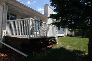Photo 27: 27 320 JIM COMMON Drive NW: Sherwood Park House Half Duplex for sale : MLS®# E4216651