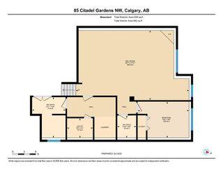 Photo 22: 85 Citadel Gardens NW in Calgary: Citadel Detached for sale : MLS®# A1040271