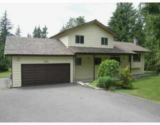 Photo 3: 11881 260TH Street in Maple_Ridge: Websters Corners House for sale (Maple Ridge)  : MLS®# V769709